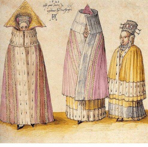 Albrecht-Durer-Three-Mighty-Ladies-from-Livonia-1521