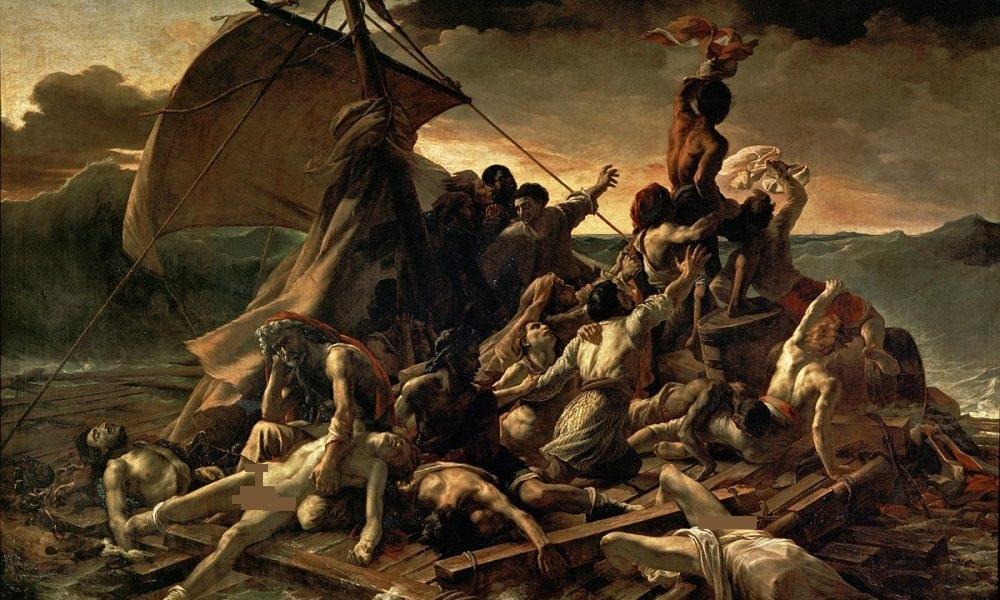 1200px-JEAN_LOUIS_THÉODORE_GÉRICAULT_-_La_Balsa_de_la_Medusa_Museo_del_Louvre_1818-19-1000x600