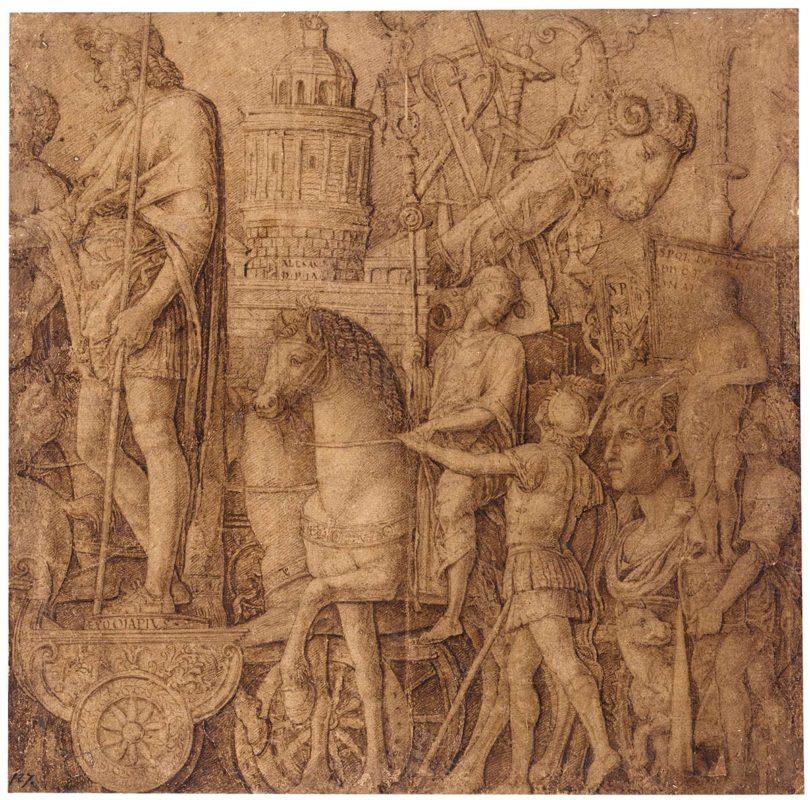 mantegna-the-triumph-of-alexandria-sketch-e1600281898935