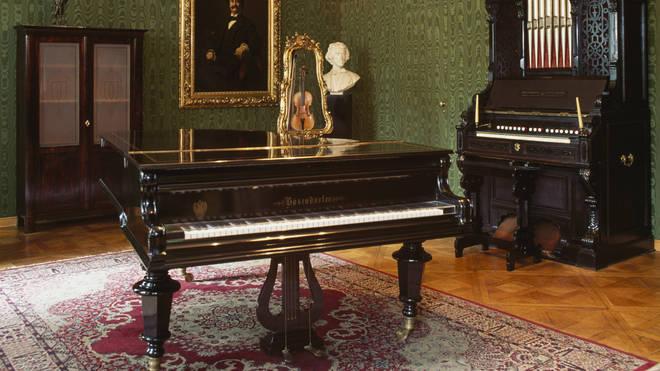 Johann Strauss II's piano