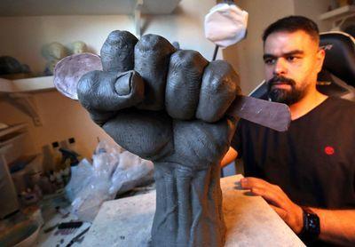 «قاشق آزادی» هنرمند کویتی به یاد اسیران فلسطینی زندان جلبوع