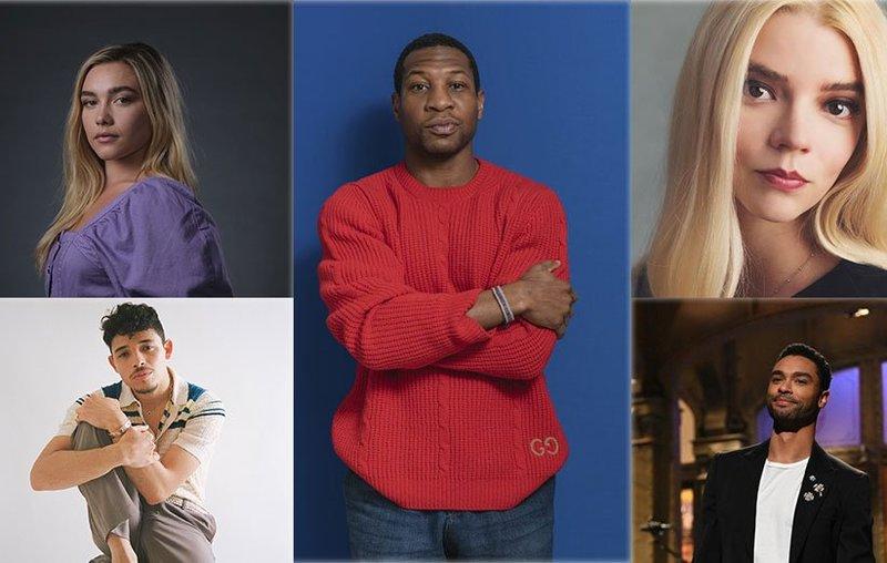 پنج ستاره نوظهور هالیوود