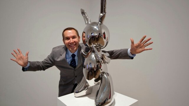 «جف کونز» ، گرانترین هنرمند زنده دنیا