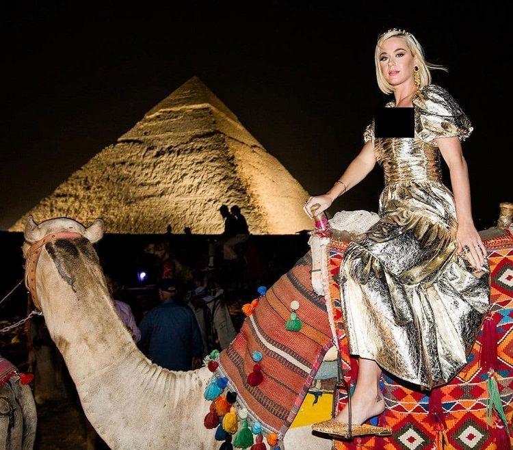 الهام گرفتن کیتی پری از مصر باستان در مجموعه جدیدش