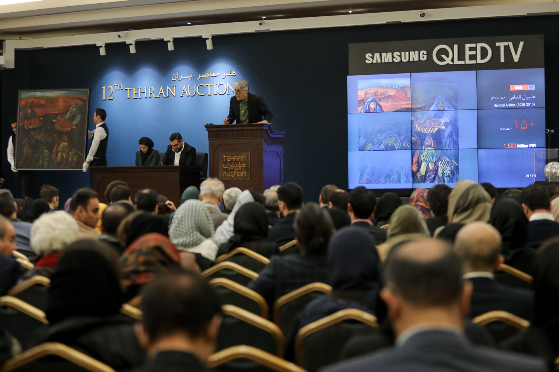 حراج آثار هنری در ایران پدیدهای تازه است