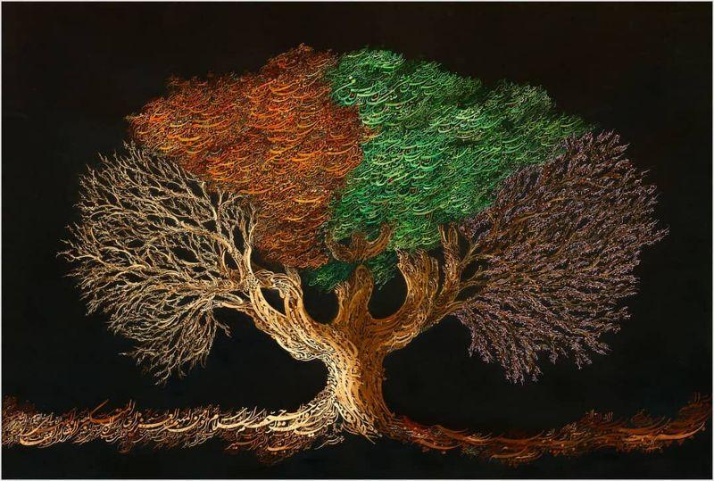 هنر خوشنویسی شناسنامه ایرانیان است