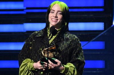 بیلی ایلیش برنده 6 جایزه از جوایز گرمی 2020 شد