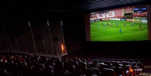 مسابقات فوتبال ایران در سینماها پخش میشوند؟