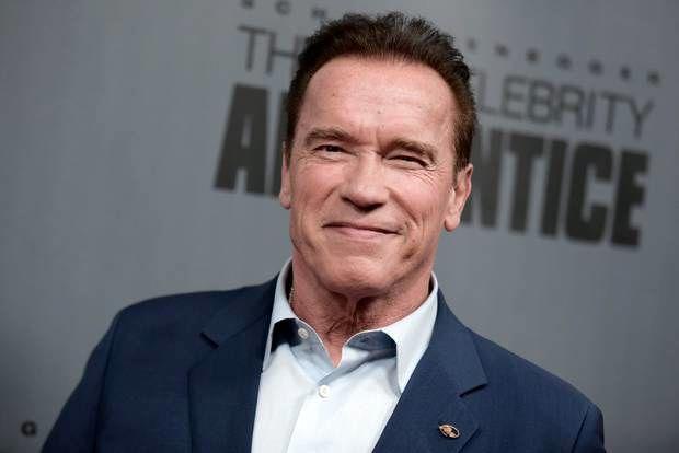 آرنولد برای اولین بار سریال بازی میکند