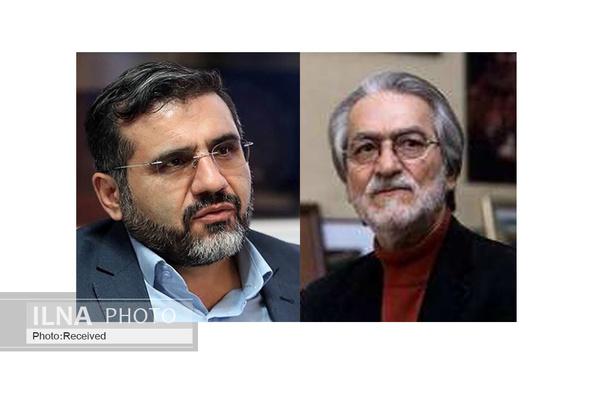 وزیر ارشاد با مجید انتظامی دیدار کرد