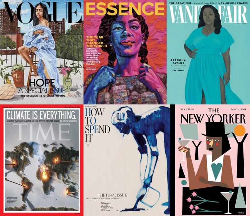 ایا جلد مجلهها محلی جدید برای نمایش آثار هنری است؟