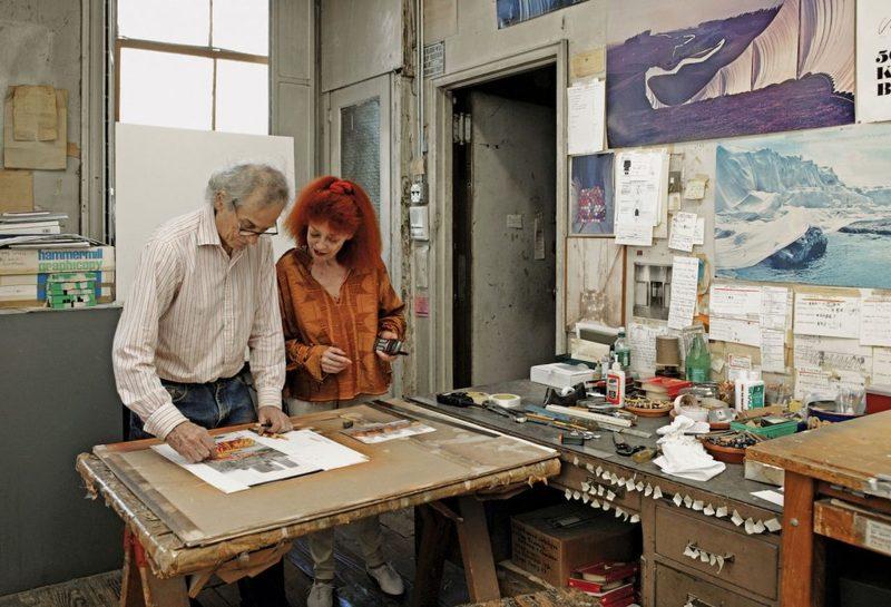 مجموعه  شخصی کریستو و ژان کلود زیر چکش حراج