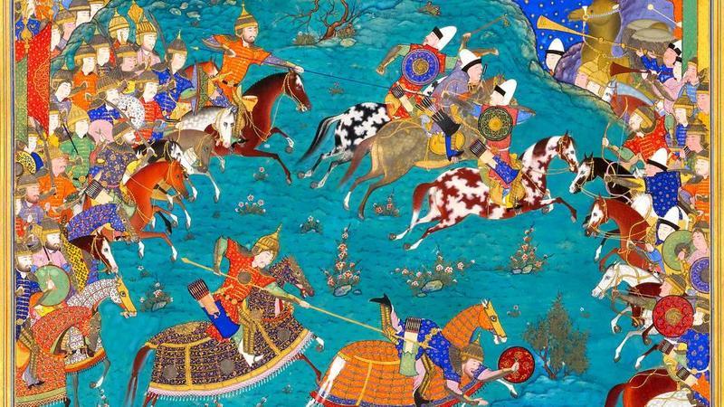 نمایشگاه حماسه ایران در موزه ویکتوریا و البرت انگلستان