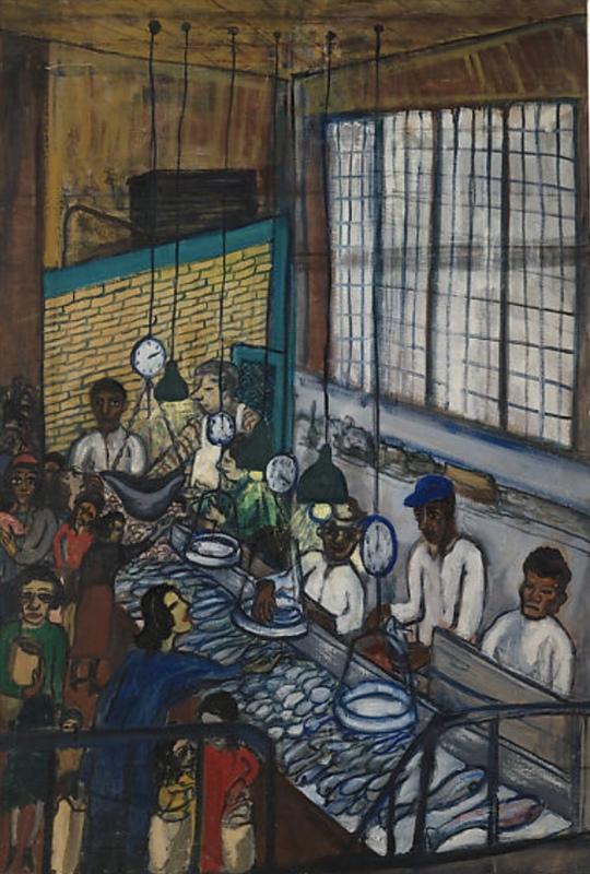 «اول مردم میآیند» نمایشگاهی از آثار «آلیس نیل»