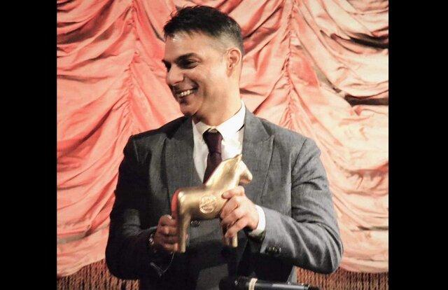 پیمان معادی جایزه دستاورد جشنواره استکهلم را گرفت