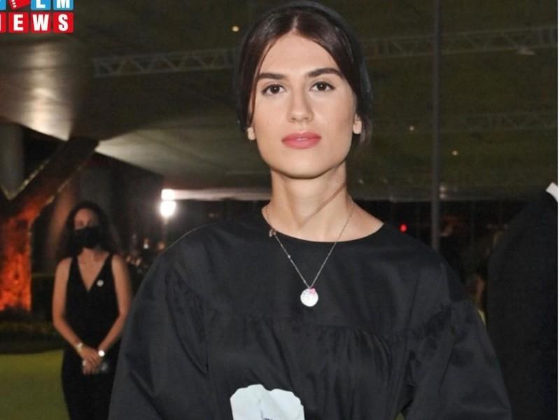 سارینا فرهادی در افتتاحیه موزه آکادمی علوم و هنرهاى سینمایى اسکار