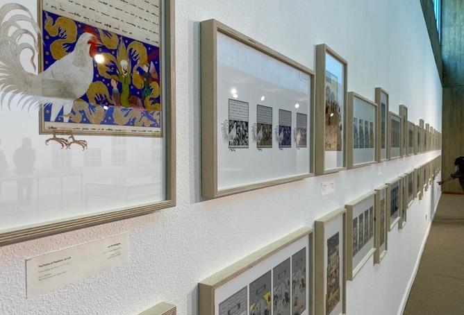 نمایشگاه نهان بر عیان در موزه هنرهای معاصر تهران