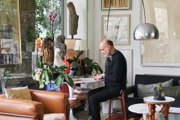 فریدون آو هنرمند، زیباشناس و حامیهنر