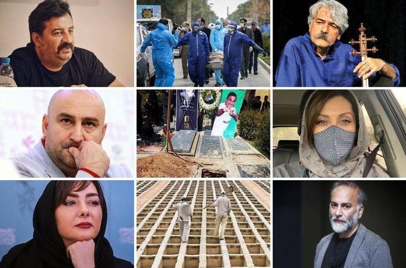 اعتراض گسترده هنرمندان به وضعیت بغرنج کرونا
