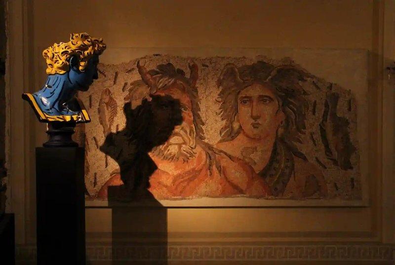 نمایشگاه «هنر زخمی» در بیروت
