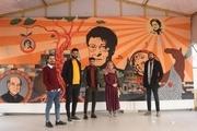 در مدرسه هنر غزه افرینش هنری بر نابودی غلبه میکند