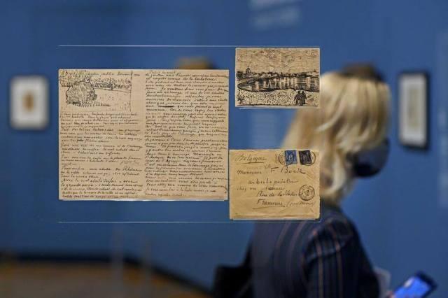 """نمایشگاهی از نامههای """"ون گوگ"""" در موزه ون گوگ"""