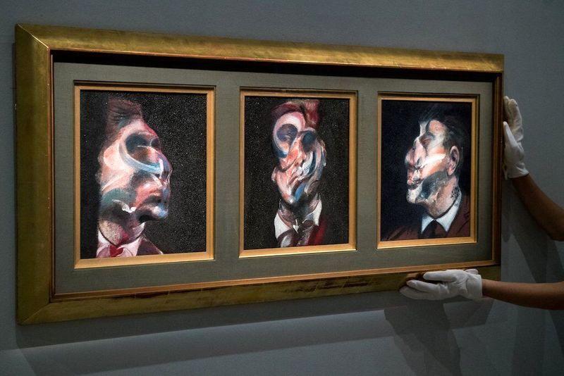 کشف ۵۰۰ نقاشی تقلبی از فرانسیس بیکن!