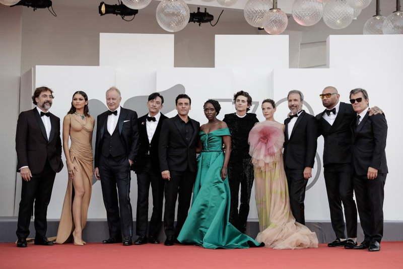 هفت دقیقه تشویق ایستاده فیلم Dune در جشنواره ونیز