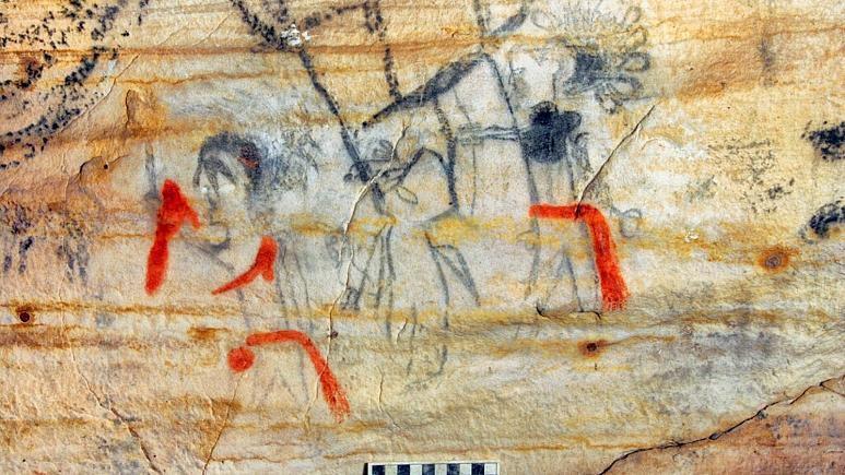 فروش یک غار تاریخی با آثار هنری بومیان امریکایی در حراج!