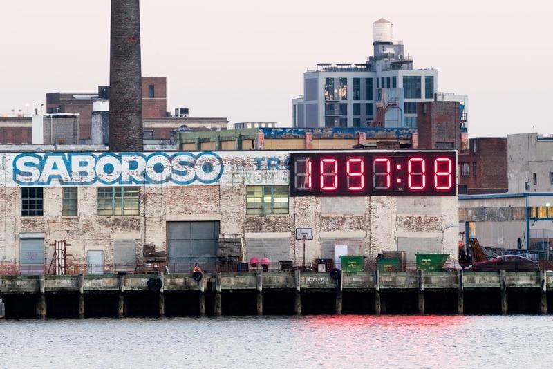 ساعت دیجیتالی مرموزی که شمارس معکوس روزهای ریاست جمهوری دونالد ترامپ بود