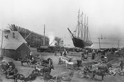 عکس تاریخی از کشتیای که ناگهان گم شد!