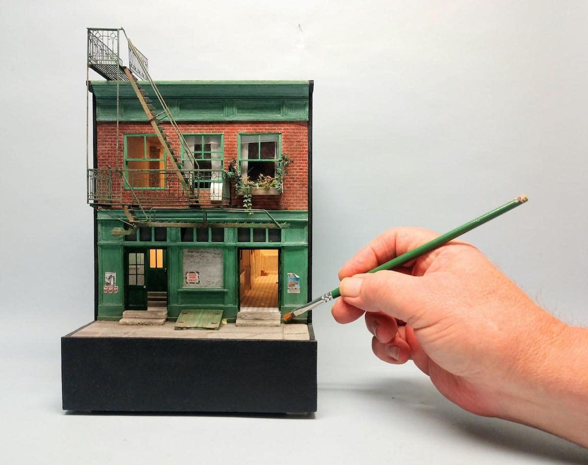 30 اثر هنری بسیار کوچک از سراسر جهان در ملبورن