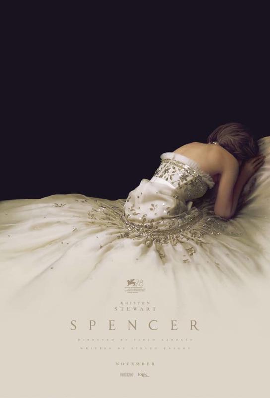 رونمایی از اولین پوستر فیلم Spencer با بازی «کریستن استوارت»