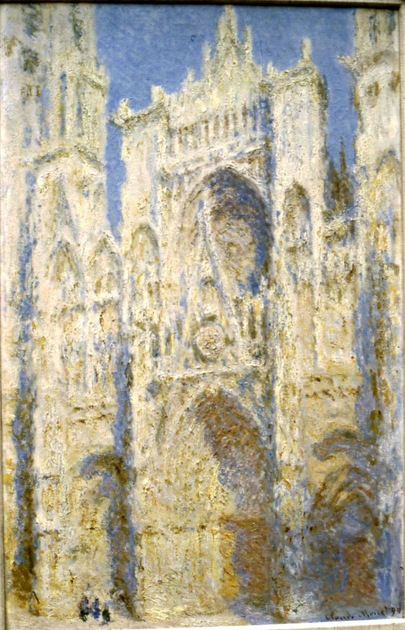 Claude Monet Rouen Cathedral The Portal at Midday 1