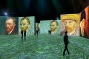 نمایشگاه نورپردازی از آثار ونگوگ در موزه هنر ایندیاناپولیس