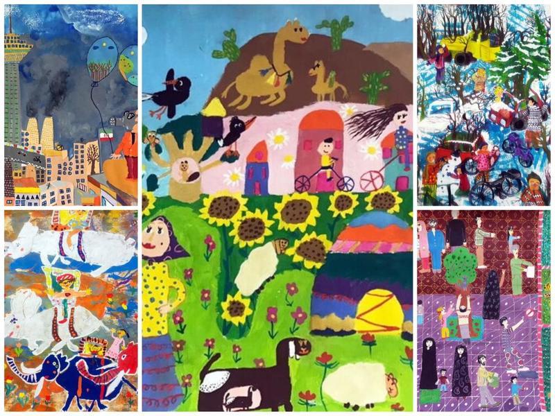 پنج کودک ایرانی در لیست برندگان جایزه نقاشی کائو ژاپن