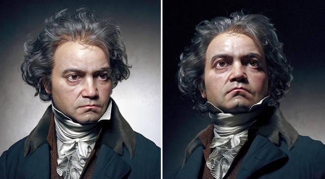چهره واقعی بتهوون به صورت سه بعدی بازسازی شد