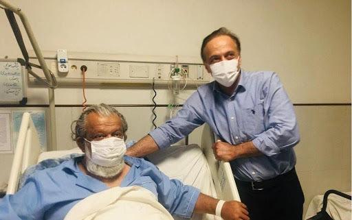 حسن پورشیرازی در بیمارستان بستری شد