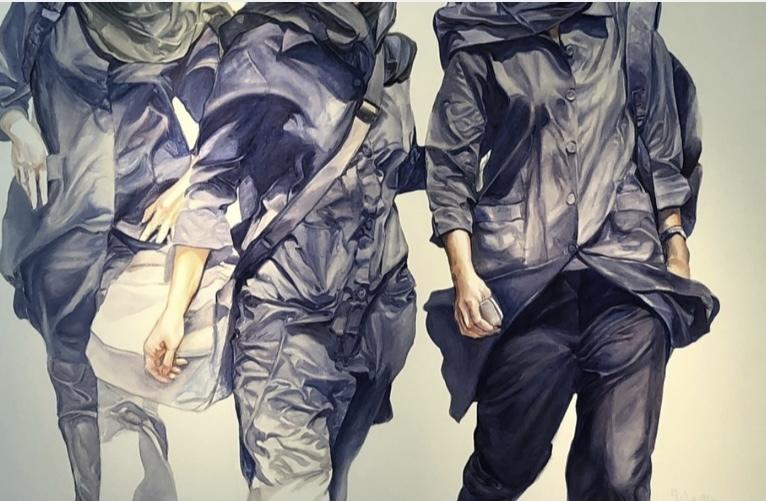 دانش اموزان در نقاشیهای شهره مهران به بهانه اول مهر