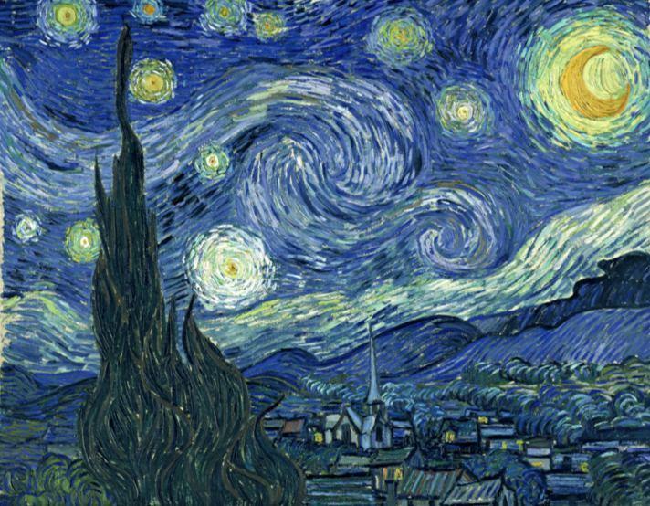 توصیف آثار ون گوگ با موسیقی و در قالب یک ترانه