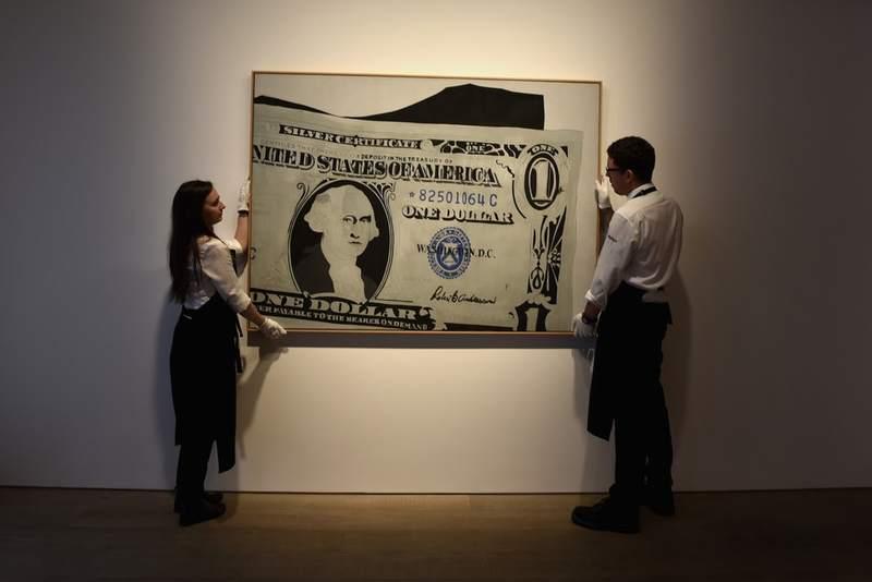 فروش حراجیهای هنری نسبت به سال گذشته کاهش پیدا کردهاست