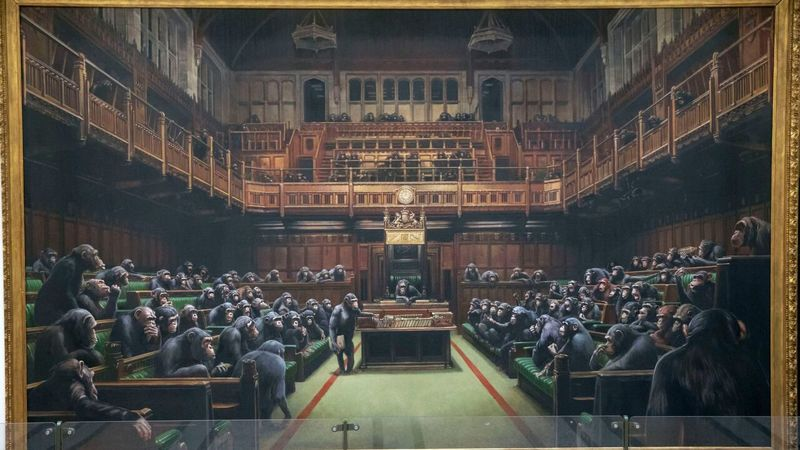 تداعی شوخ طبعانه از مجلس عوام انگلیس