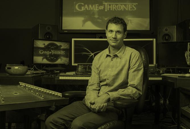 رامین جوادی برای آهنگسازی سریال تاج و تخت برنده جایزه امی شد