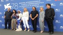 فوتوکال هیات داوران جشنواره ونیز ۲۰۲۱