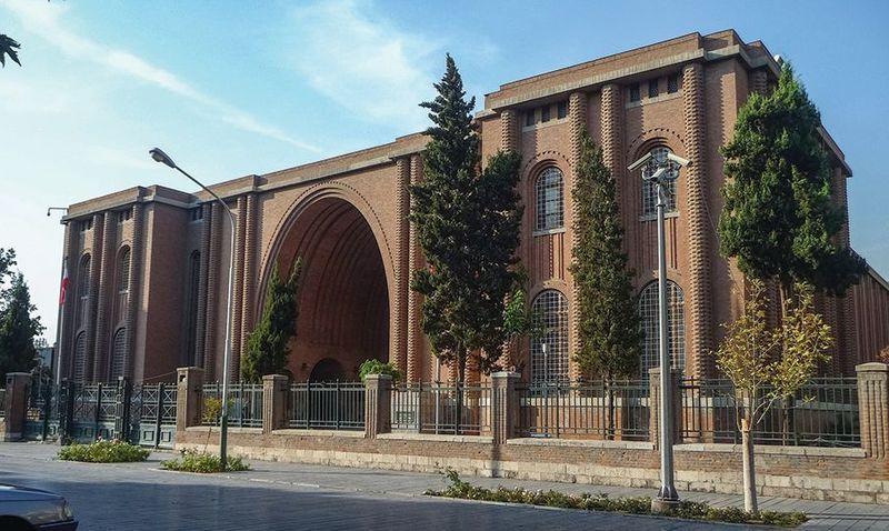 همکاری موزه هرمیتاژ سنتپترزبورگ  و موزه ملی ایران