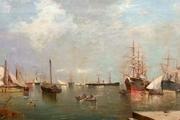 خواکین سورولا، نقاش اسپانیایی شهر مورد علاقه چاپلین و چرچیل را نقاشی کرد