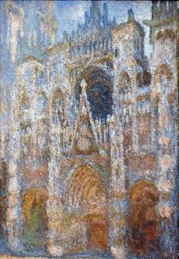 Claude Monet Rouen Cathedral_ Magic in Blue