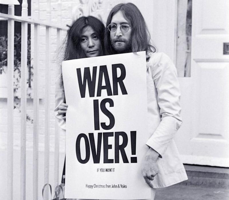 جنگ تمام شدهاست! اگر شما بخواهید...
