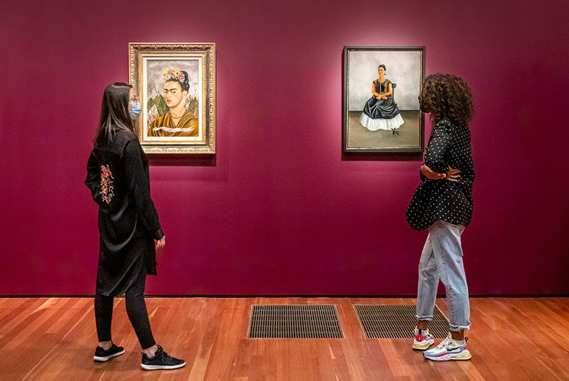 آثار و اسنادی از فریدا کالو هنرمند مکزیکی برای اولین بار در سانفرانسیسکو