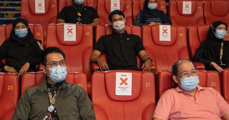 تعطیلی دوباره سینماهای مالزی